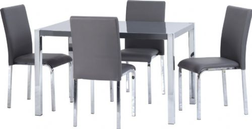 HGAC Grey Dining Set